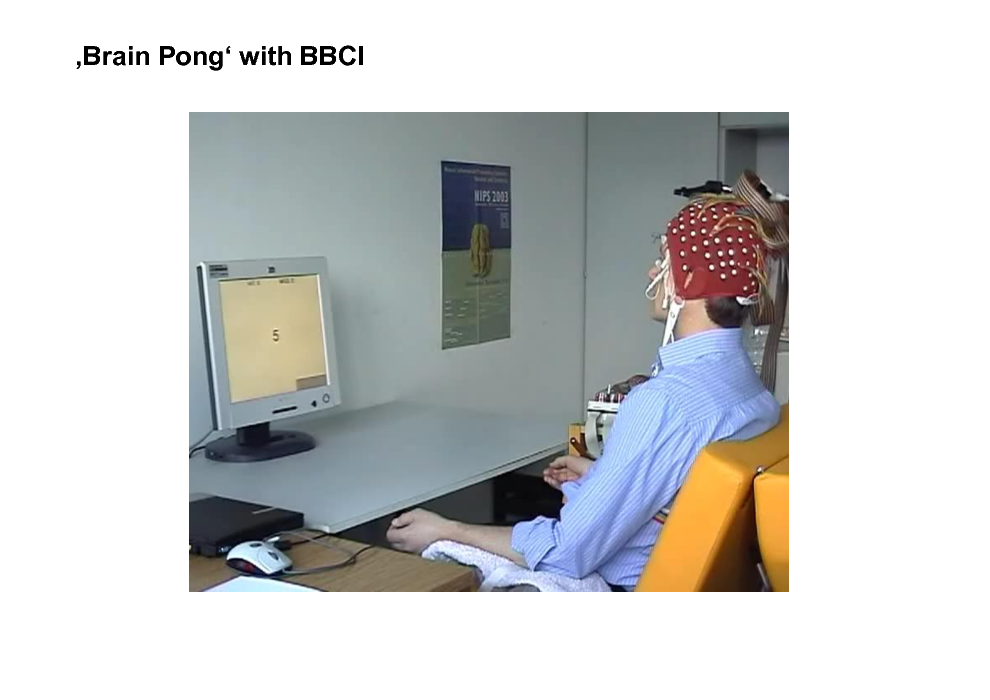 Slide: Brain Pong with BBCI