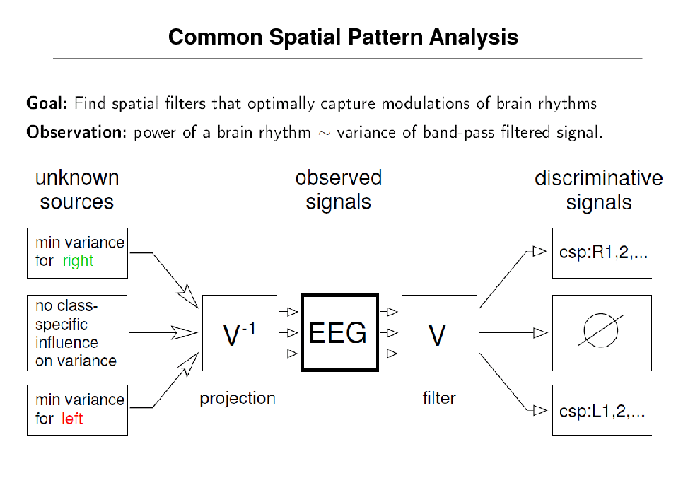 Slide: Common Spatial Pattern Analysis