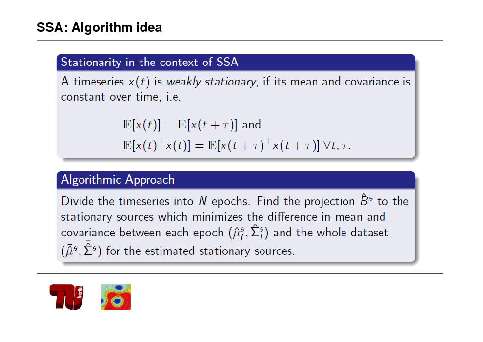 Slide: SSA: Algorithm idea