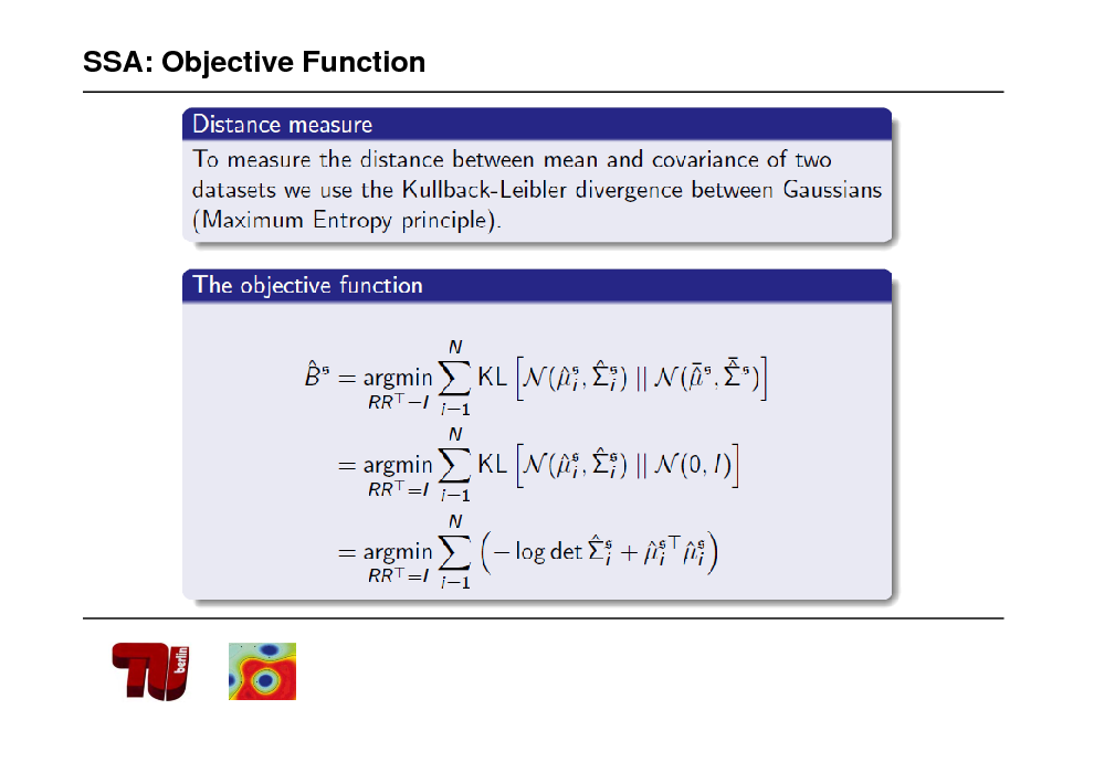Slide: SSA: Objective Function