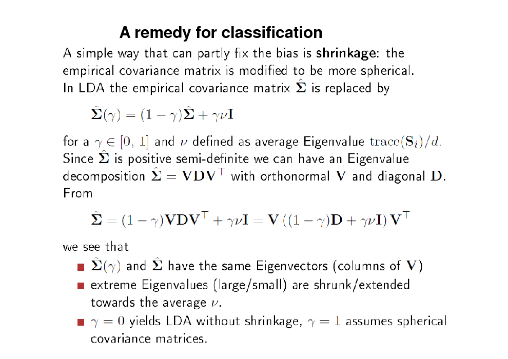 Slide: A remedy for classification