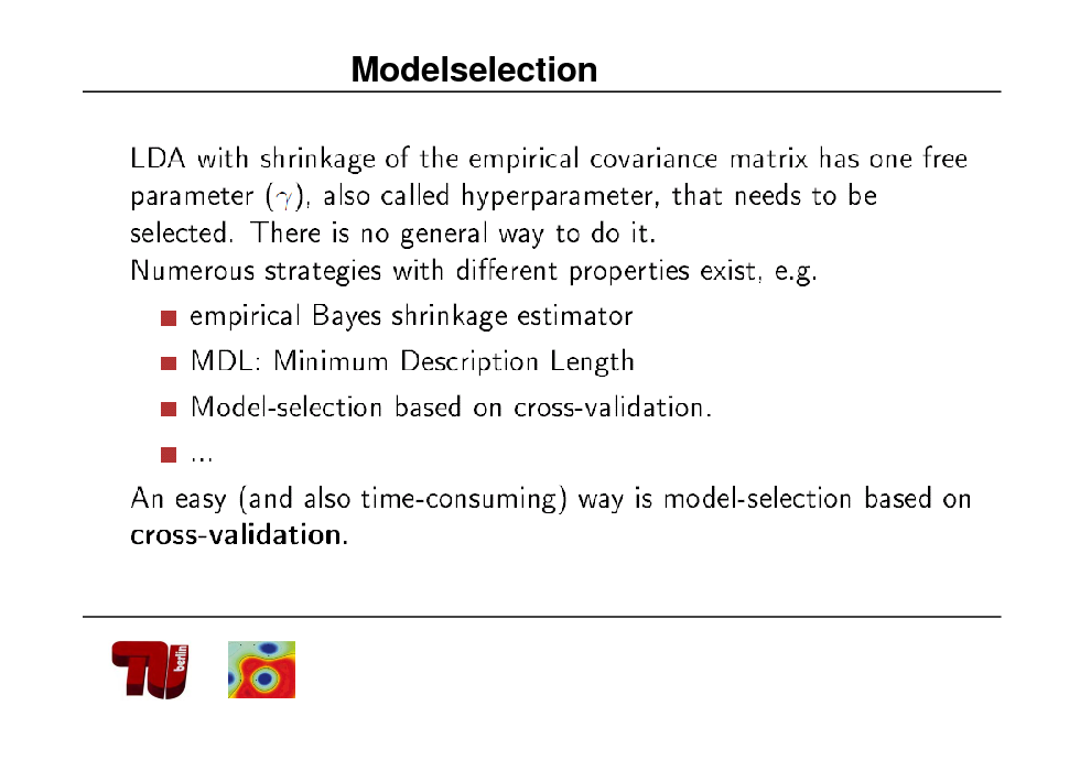 Slide: Modelselection