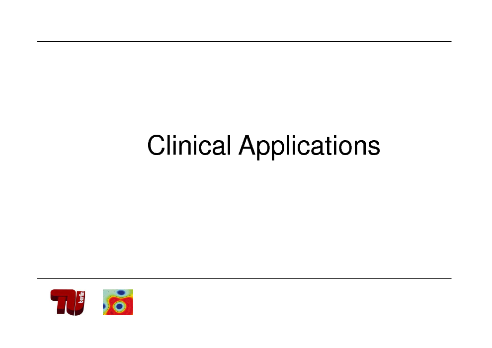 Slide: Clinical Applications