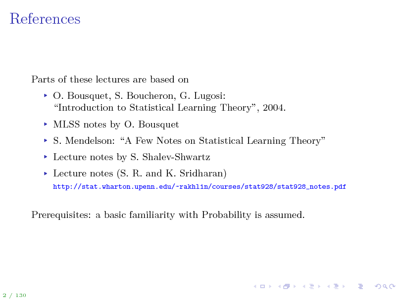 Slide: References