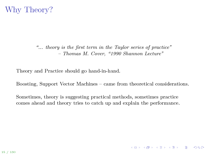 Slide: Why Theory?