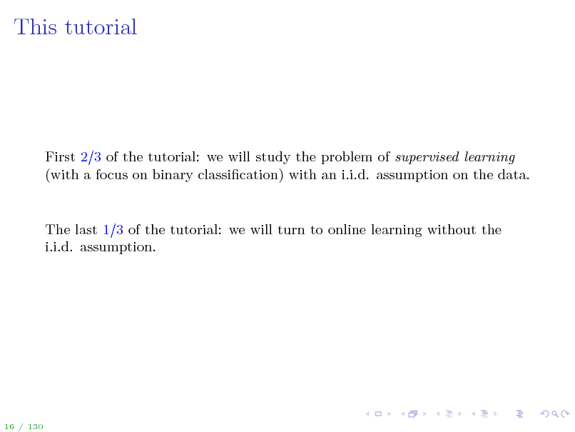 Slide: This tutorial