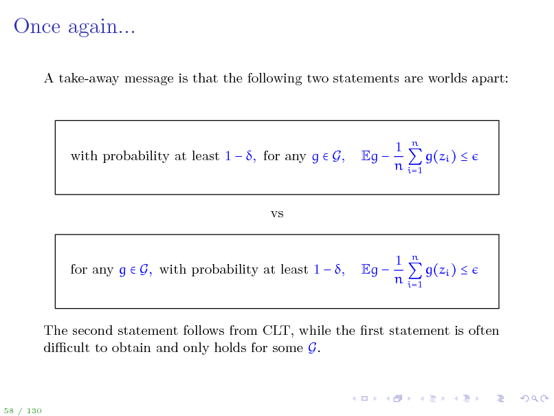 Slide: Once again...
