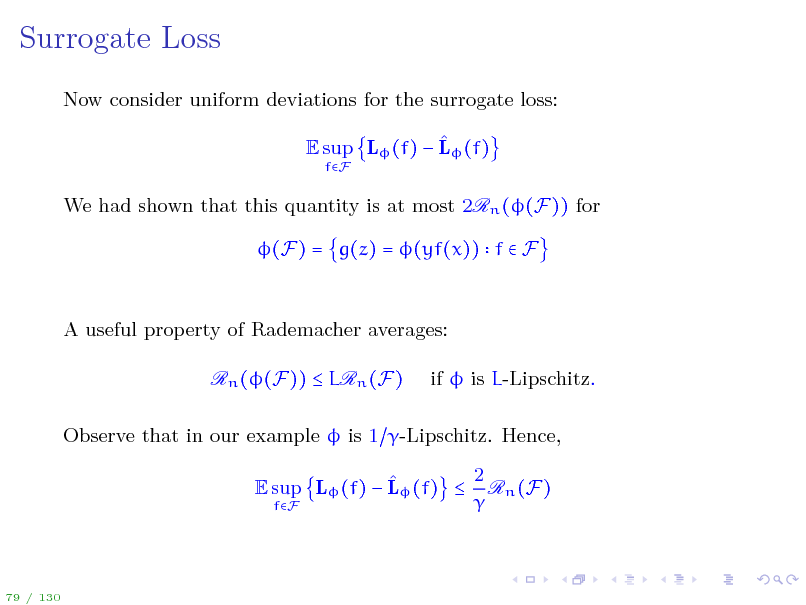 Slide: Surrogate Loss