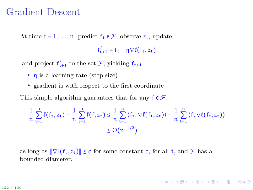 Slide: Gradient Descent