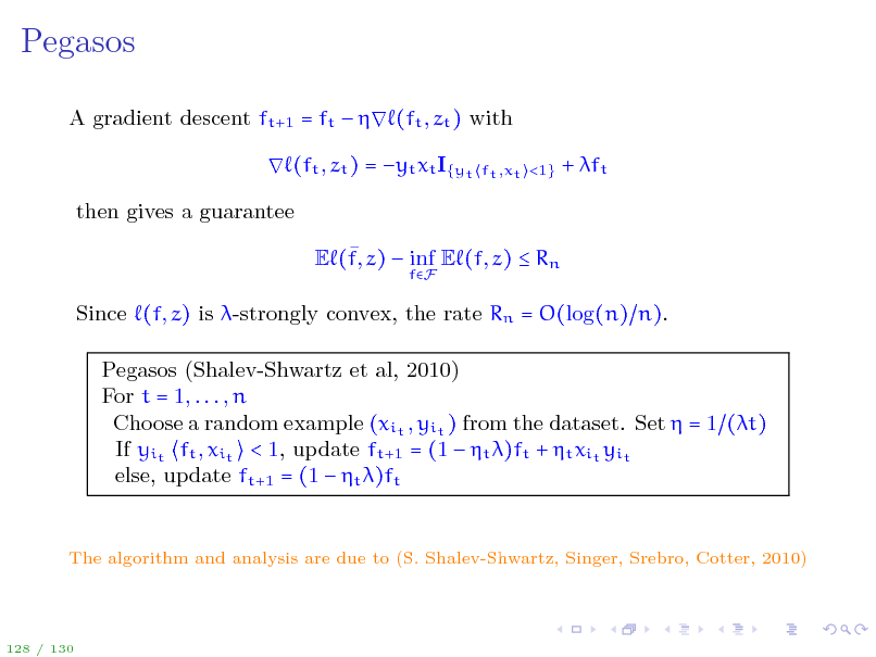 Slide: Pegasos