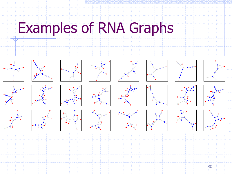 Slide: Examples of RNA Graphs  30