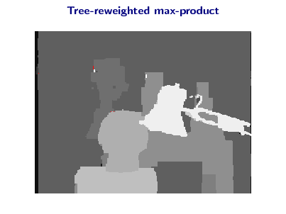Slide: Tree-reweighted max-product